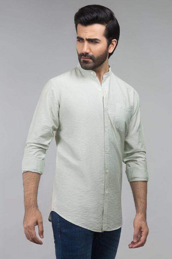 Gul Ahmed Green Casual Shirt CM-YD-2690