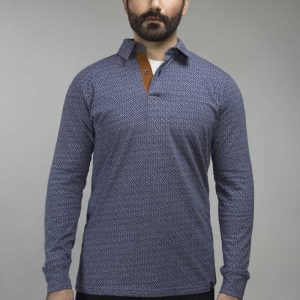 Gul Ahmed Navy Urban Polo FS-SJP-URB-D08