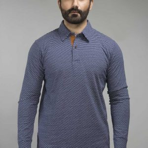 Gul Ahmed Navy Urban Polo FS-SJP-URB-D09
