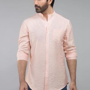 Gul Ahmed Red Casual Shirt CM-YD-2691
